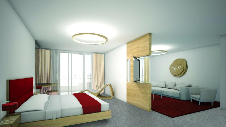Hotel_suita_ rdeca